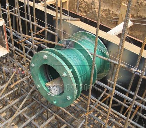 杜绝使用非标防水套管