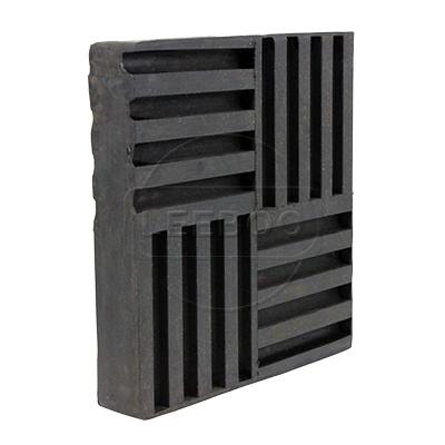 SD型橡胶减震垫内加钢板