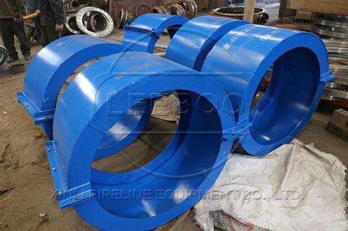 橡胶接头与防护罩的配合使用