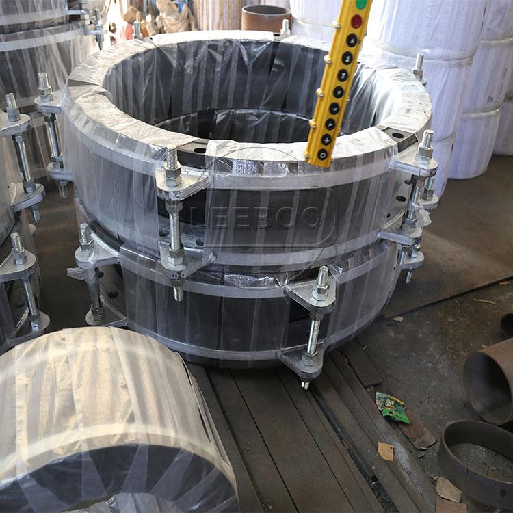 如何处理大口径橡胶接头被氧化