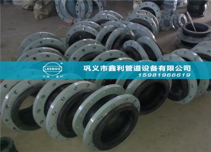 橡胶接头减振降噪原理和补偿位移效果