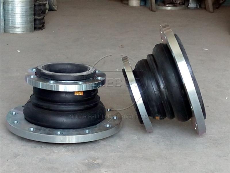 异径橡胶接头在硫化管道中的运用