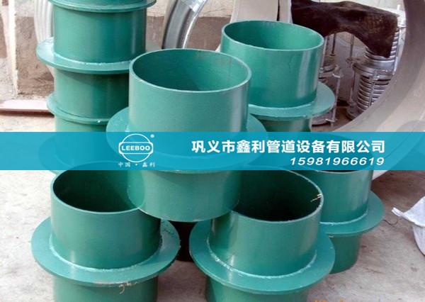 安装刚性防水套管时应注意外界环境的要求
