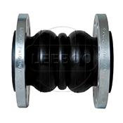 单球橡胶软接头在金属管道之间起到的作用