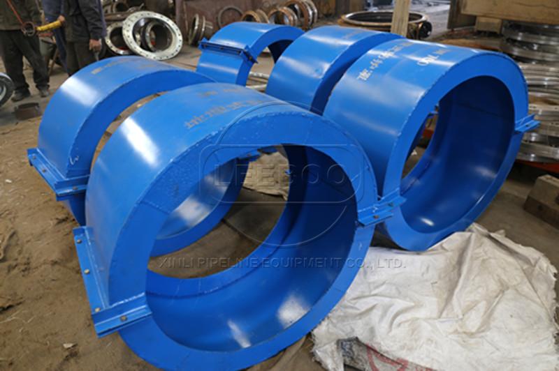 橡胶接头防护罩的安装方式