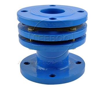 鑫利端面全密封橡胶减震伸缩器的特点