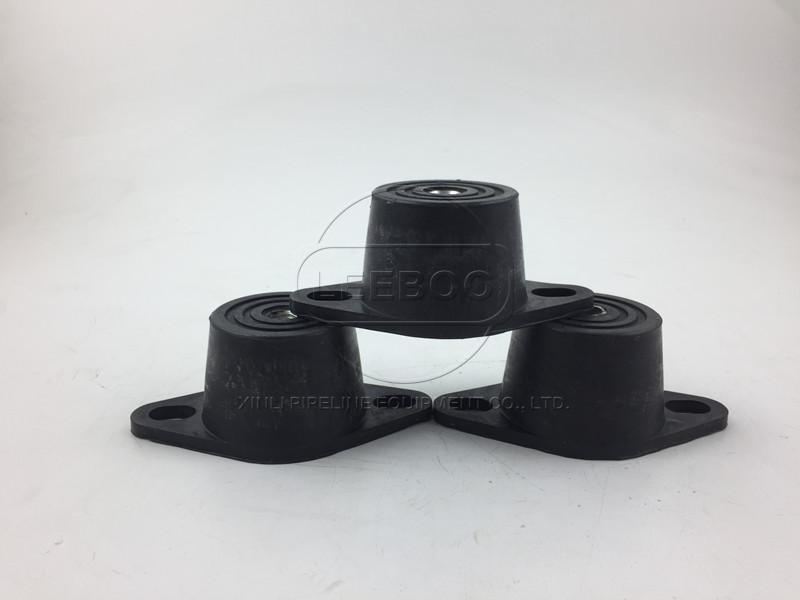 橡胶减振器安装在水泵上需要注意的问题