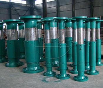 鑫利管道套筒补偿器安装的工作流程