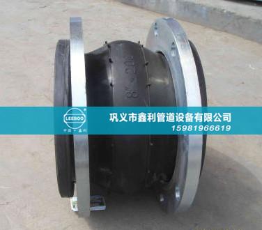 防拉脱橡胶接头能有效避免管道运行中被拉脱